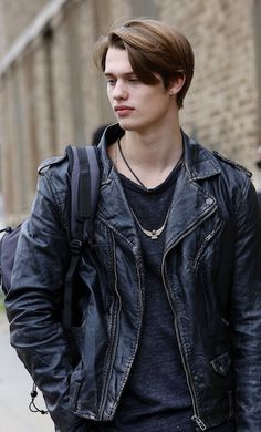 Our JOHNNIE, from @HighStrungMovie played by #NicholasGalitzine. What do you think he is thinking about?