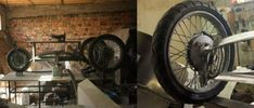 Fully functional self-made steampunk trike.