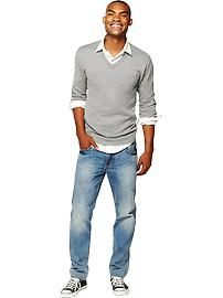 Grey Sweater | Old Navy | Senior Pictures | Guys | Boys | Outfit Idea |