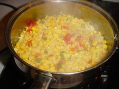 Classic Macque Choux Cajun Smothered Corn - South Louisiana Recipes