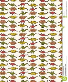 Images For > Dinosaur Pattern Wallpaper