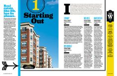 Best Places to Live 2011 - Chin Wang Design Editorial design spread #dps #inspiration #layout