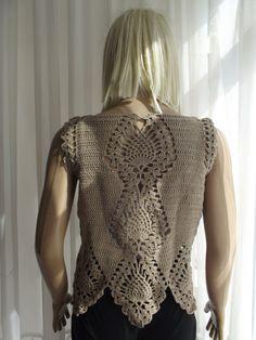 Summer Breeze Custom Order Crochet Sweater / by BilgesCreation