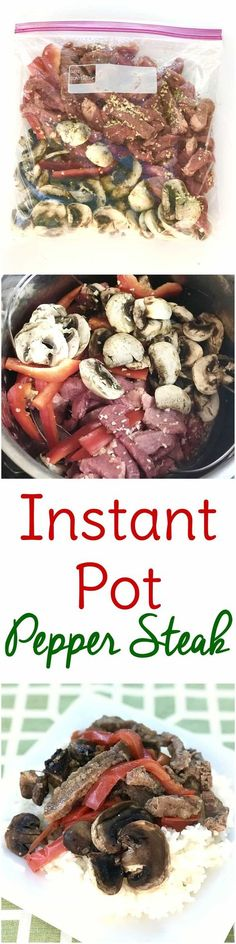 This freezer Instant Pot meal is an easy dinner recipe that just might save your sanity this season! Gluten free and Weight Watchers friendly too.