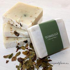 Jabón de Tomillo - Campo di fiore. #jabonesnaturales #jabones #tomillo #skincare #beauty #belleza #soaps #natural #jabones