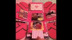 生日爆炸卡(參考*和雅菲一起做卡片 Craft With Yaffil*)