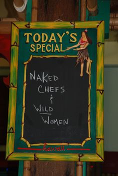 oh, okay...nice to know what's on the menu! ha ha :-)  don't see this one every day! lol