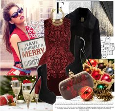"""""""Christmas"""" by justsweet on Polyvore"""