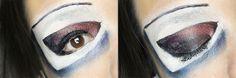 Tuxedo Mask inspired makeup by http://www.miutiful.de/2015/11/tuxedo-mask.html