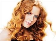 amy adams. curls. red