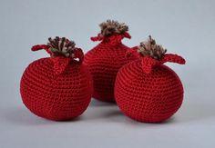 Crochet Fruit, Crochet Food, Diy Crochet, Diy And Crafts, Crafts For Kids, Fine Motor Skills Development, Food Patterns, Fruit Pattern, Play Food