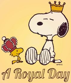 Royal day via www.Facebook.com/Snoopy