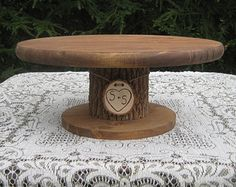 10 Wood Cake Stand Cupcake Stand Flower Stand by DaliasWoodland