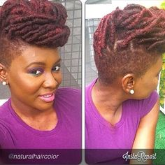 Yes To Locs Shaved Sides Bold N Beauti At Www Kurleebelle Com Pertaining To Appealing Hair Gel Be Natural, Natural Hair Tips, Natural Hair Inspiration, Natural Hair Styles, Natural Beauty, Shaved Side Hairstyles, Braided Hairstyles, Cool Hairstyles, Braids With Shaved Sides