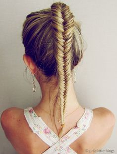 Fishtail Braid have always been one of my favorite looks.