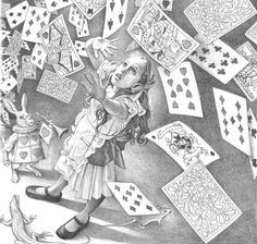 ALICE'S ADVENTURES UNDERGROUND BY CHARLES SANTORE
