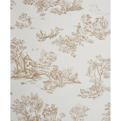 1000 images about behang toile de jouy on pinterest - Papel pintado toile de jouy ...
