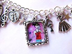 Cinderella Charm Bracelet Growing Up Tween Adolescent Teen Young Lady Fashion Jewelry