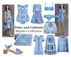 """""""Dolce and Gabbana- Majolica"""" by aknalb on Polyvore featuring Dolce&Gabbana"""
