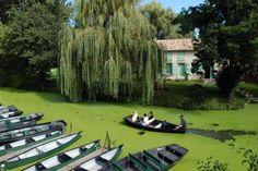 La Venise verte, Marais Poitevin, France  www.visit-poitou-charentes.com/en/Marais-poitevin
