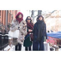 """Mina Cvetkovic, Mijo Mihaljcic, & Antonina Petkovic @how_about_mina @mijomihaljcic @antoninapetkovic #antoninapetkovic #newyork #fashionweek #nyfw…"""