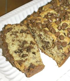 Chocolate Chip Banana Bread is a wonderful sweet bread! This is a quick and easy recipe that will put a loaf of delicious bread on your platter in no time!