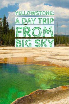 Big Sky, Montana is a great summer vacation destination! Find out all the fun experiences you can enjoy on your next trip including a day trip to Yellowstone National Park! Auckland, Montana Resorts, Big Sky Montana, Dillon Montana, Travel Tours, Travel Destinations, Travel Ideas, Travel Usa, Jamaica Travel