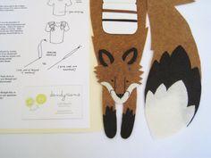 Fox appliques DIY coudre renard par dandyrions sur Etsy