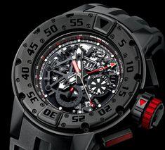 Richard Mille RM032 Dark Diver Chronograph Watch