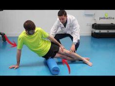 Estiramientos para mejorar el síndrome de la cintilla iliotibial