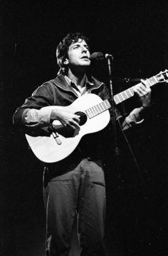 Leonard Cohen - Mariposa Folk Festival (August 13, 1967) ~ in Ontario, Canada