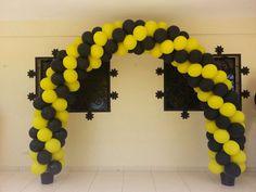 decoracion con globo fiesta batman (1)   Curso de organizacion de hogar aprenda a ser organizado en poco tiempo