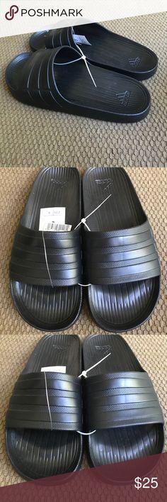 Adidas Duramo Slides Size 9 All Black Adidas Duramo Slides Size 9 All Black. Never worn all black adidas slides. No box but, brand new! adidas Shoes Loafers & Slip-Ons