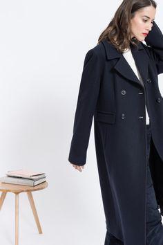 7 besten Manteaux longs Bilder auf Pinterest   Mäntel, Damen ... ebaabc7034