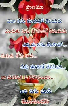 Love Meaning Quotes, Some Love Quotes, Soulmate Love Quotes, Love Quotes With Images, Friendship Quotes In Telugu, Love Quotes In Telugu, Good Morning Image Quotes, Good Morning Beautiful Quotes, Feel My True Love