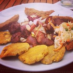 how to make fried plantains haitian style