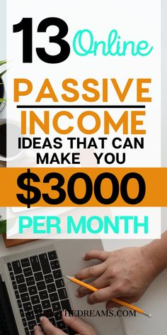 What Is Passive Income, Passive Income Streams, Creating Passive Income, Make Money Blogging, Earn Money, How To Make Money, Fitness Binder, Starting A Podcast, Budget Binder