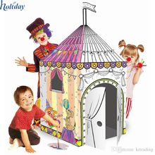Cardboard Playhouse, Cardboard Playhouse direct from Shenzhen Holiday Package&Display Co. in China (Mainland) Cardboard Playhouse, Shenzhen, Play Houses, Packaging, China, Display, Holiday, Baby, Floor Space