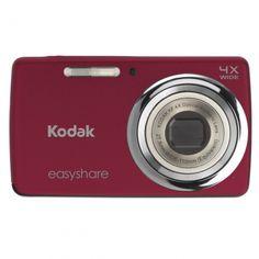 Máy ảnh KTS Kodak EasyShare M532 14 MP Digital Camera with 4x Optical Zoom  Red Giá 16446a0e56cbd