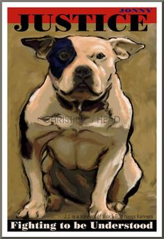 This amazing artist donated prints to the Pinups for Pitbulls, Inc. auction. We <3 her!