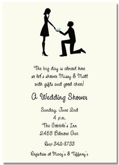 Top Picks for Bridal Shower Invitations and Engagement Party Invitations: Bridal Shower Invitations - Bonnie's Stylepress