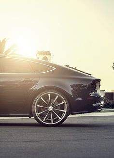 2013 Audi S7 on Vosen Wheels