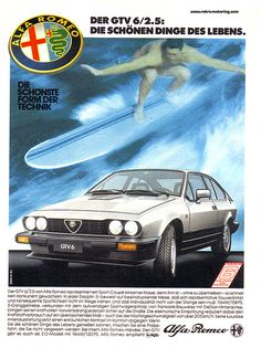 Alfa Romeo GTV6 Advert | Flickr - Photo Sharing!