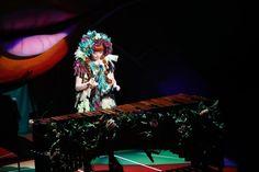 きゃりーぱみゅぱみゅ「KPP 5iVE YEARS MONSTER WORLD TOUR 2016 in Tokyo」の様子。