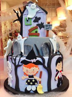 Fall Treats, Holiday Treats, Holiday Parties, Halloween Fondant Cake, Halloween Cookies, Birthday Cakes, Birthday Ideas, Pastry Art, Baking And Pastry