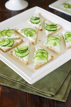 Cucumber Sandwiches photo