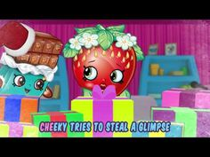 MLP Shopkins Christmas Holiday Season My Little Pony Fluttershy Creamy Bun Bun Playset Store Toy - YouTube