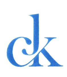 laureola:    CK -ligature  (via iloveligatures, apartment-eleven) - this is the NICEST ligature I have ever seen