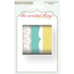 NEW! The Sweetest Thing Bluebell Decorative Tape- Smile by MemoryMakinShoppe on Etsy
