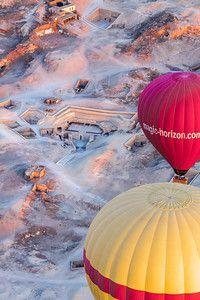 Balloon Flight, near the valley of the kings